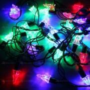 Гирлянда светодиодная цветная 5 м ёлочки