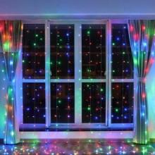 Гирлянда светодиодная штора 3х3 м