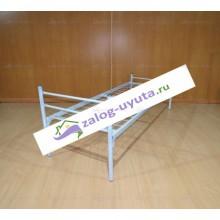 Кровать металлическая для рабочих 70х190