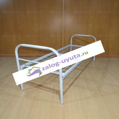 Кровать металлическая одноярусная Эконом 80х190