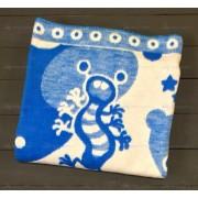 Одеяло байковое Зверюшки 100х140