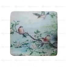 Подушка декоративная Райские птицы 40х40