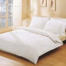 Постельное белье Белое Бязь 1.5-спальное